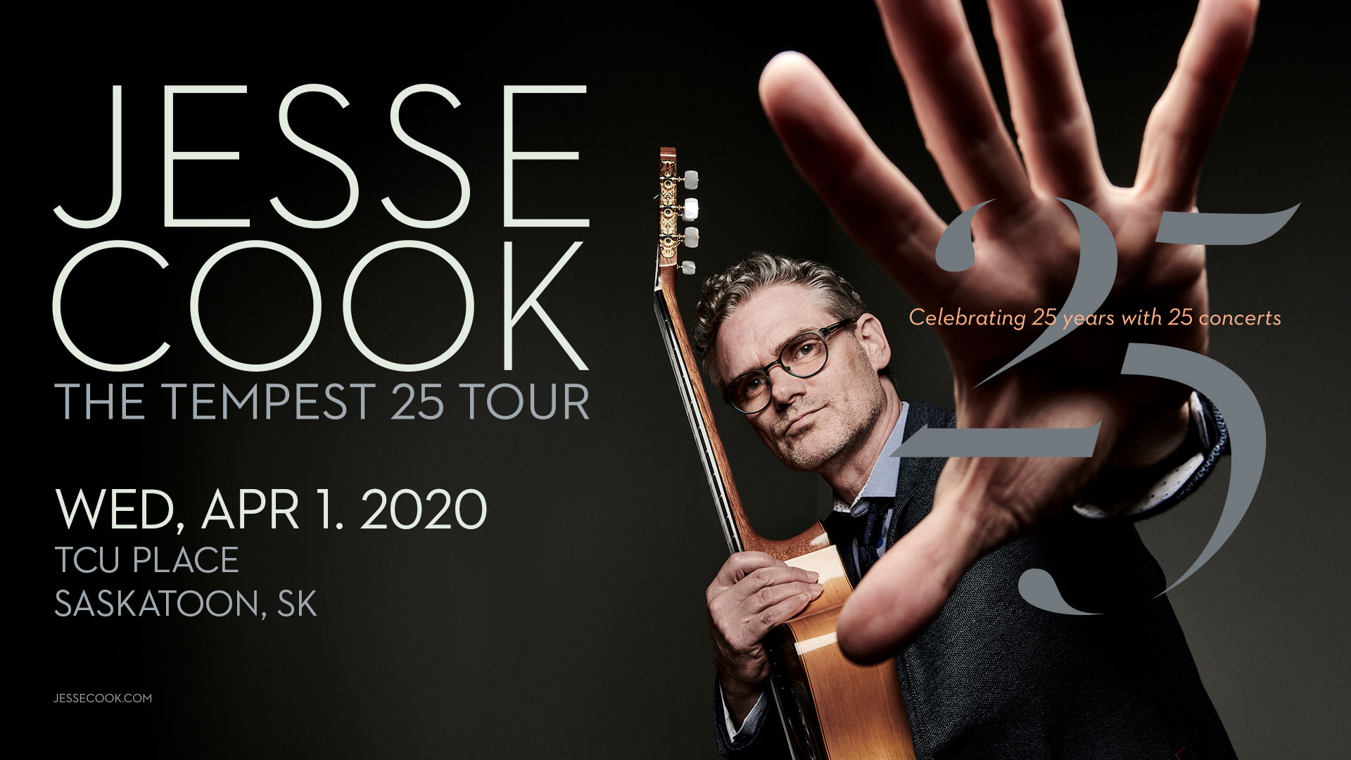 Jesse Cook - The Tempest 25 Tour - Celebrating 25 years with 25 concerts